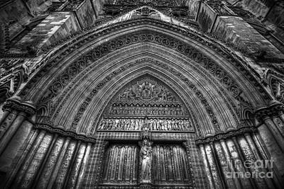 Westminster Abbey Photograph - Pacis Exsisto Vobis by Yhun Suarez