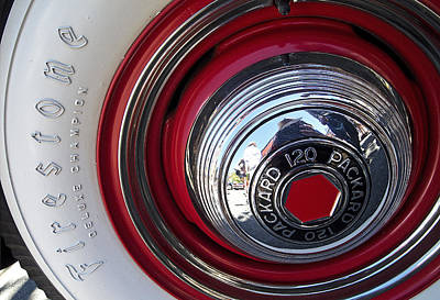Photograph - Packard 120 by Doug Davidson