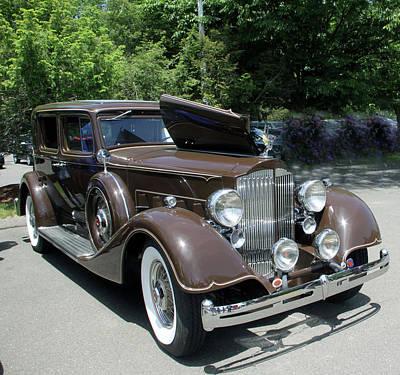 Photograph - Packard Club Sedan 1934 by Gerald Mitchell