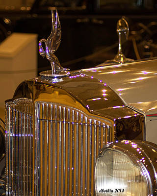 Photograph - Packard by Dick Botkin
