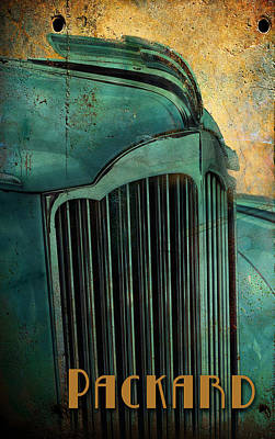 Digital Art - Packard by Greg Sharpe