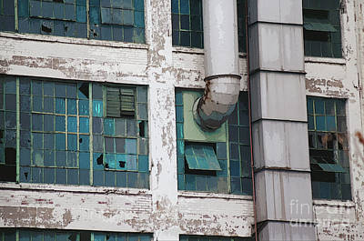 Digital Art - Packard Plant Windows by Sandra Church