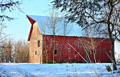 Photograph - Packard Red by Bonfire Photography