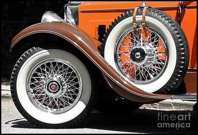 Photograph - Packard Roadster Wheels by Gabriele Pomykaj