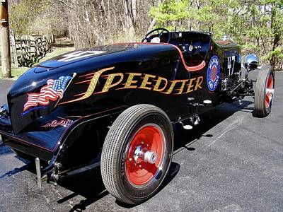 Photograph - Packard Speedster  by Alan Johnson