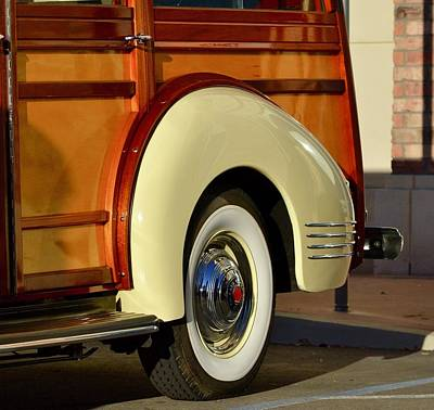 Photograph - Packard Woodie by Dean Ferreira