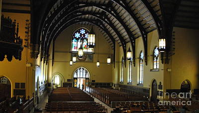 Photograph - Packer Memorial Church Interior by Jacqueline M Lewis