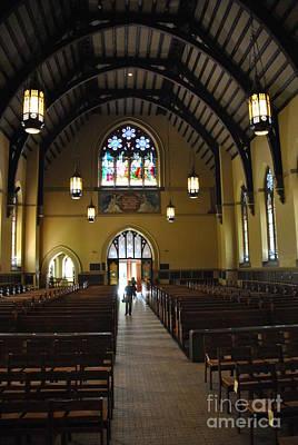 Photograph - Packer Memorial Church - Vertical by Jacqueline M Lewis