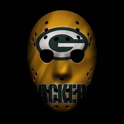 Photograph - Packers War Mask 3 by Joe Hamilton