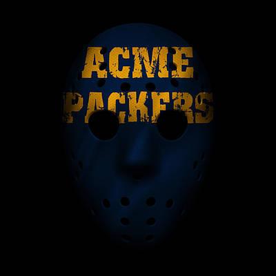 Photograph - Packers War Mask 4 by Joe Hamilton