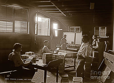 Photograph - Packing Cigars Key West Florida by John Stephens