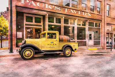 Photograph - Pack's Truck by Erwin Spinner