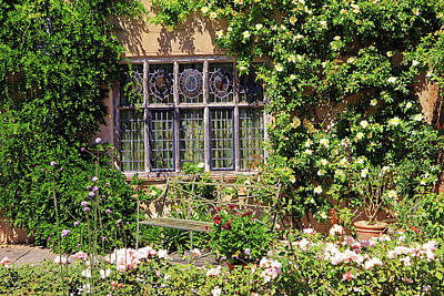 Photograph - Packwood House Window by Tony Murtagh