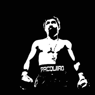 Pacquiao Art Print by Elvin Dantes