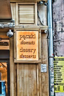 Photograph - Paczki And Desery by Sharon Popek