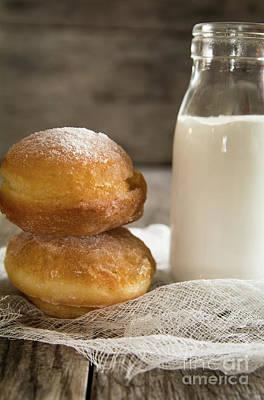 Paczki Doughnuts Print by Deborah Klubertanz