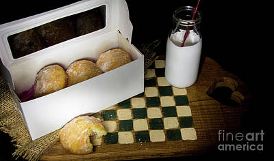 Photograph - Paczkis...  A Family Tradition by Deborah Klubertanz