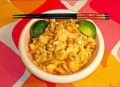 Photograph - Pad Thai by Robert Meyers-Lussier