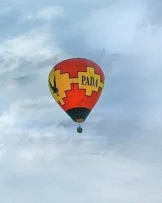 Photograph - Pada Flying Hi by Mary Timman