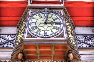 Photograph - Paddington Railway Station Clock by David Pyatt