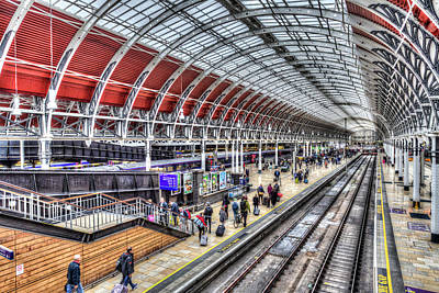 Photograph - Paddington Railway Station  by David Pyatt