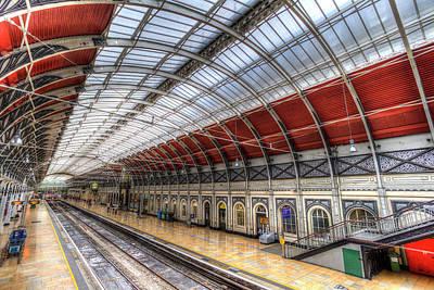 Photograph - Paddington Station  by David Pyatt