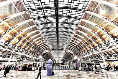 Photograph - Paddington Station London Art by David Pyatt