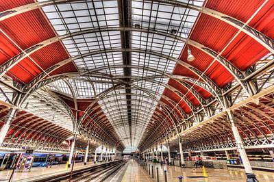 Photograph - Paddington Station London by David Pyatt