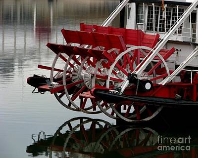 Photograph - Paddle Boat On The Ohio by Misha Bean