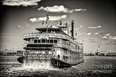 Photograph - Steamboat Natchez Paddle Boat by Rene Triay Photography