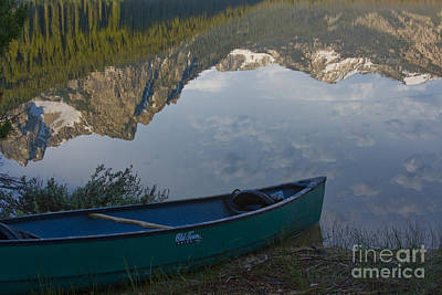 Photograph - Paddle To The Mountains by Idaho Scenic Images Linda Lantzy