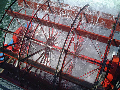 Photograph - Paddle Wheel No. 7-1 by Sandy Taylor