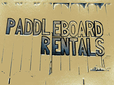Digital Art - Paddleboard Rentals by Bill Owen