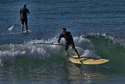Photograph - Paddleboarding 1 by Michael Gordon
