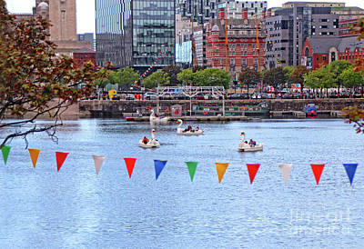Photograph - Paddleboats - Liverpool  by Doc Braham