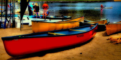 Photograph - Paddlefest In Old Forge by David Patterson