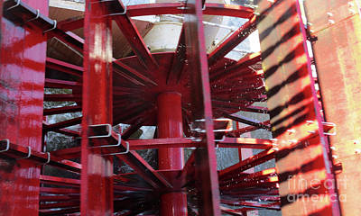 Photograph - Paddlewheel 1 by Randall Weidner
