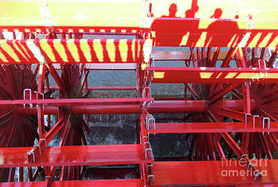 Photograph - Paddlewheel 2 by Randall Weidner