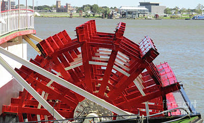 Photograph - Paddlewheel 3 by Randall Weidner