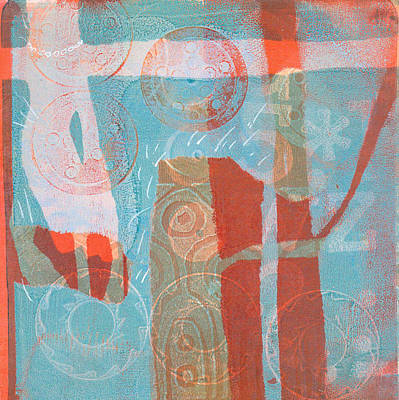 Mixed Media - Paddling In My Pearls by Catherine Redmayne