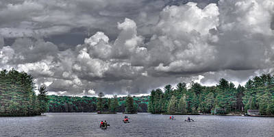 Photograph - Paddling The Waters Of White Lake by David Patterson