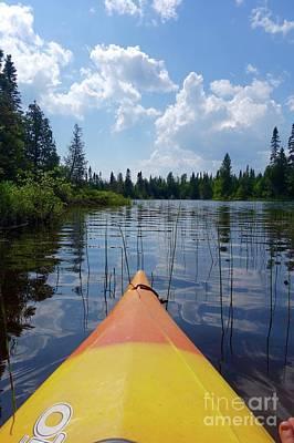 Photograph - Paddling Tom Lake by Sandra Updyke