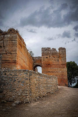 Algarve Wall Art - Photograph - Paderne Castle by Carlos Caetano