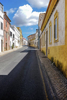 Algarve Wall Art - Photograph - Paderne Street by Carlos Caetano