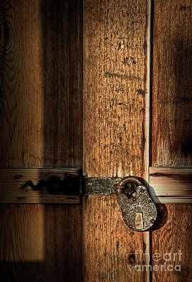 Photograph - Padlock by Fred Lassmann