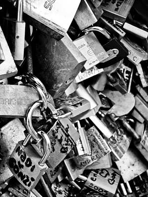 Photograph - Padlocks Of Love by Silvia Bruno