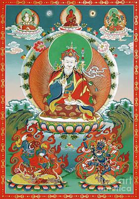 Painting - Padmasambhava by Sergey Noskov