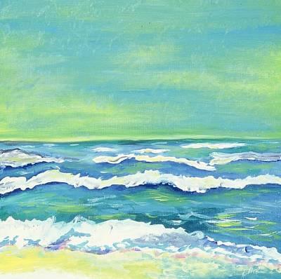 Padre Island Texas Art Print