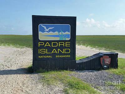 Photograph - Padre Island by Tony Baca