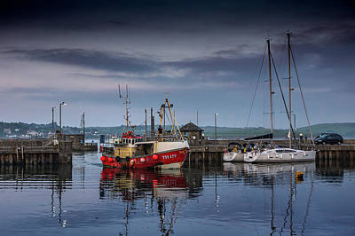 Photograph - Padstow Boats by Framing Places